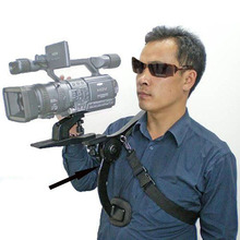 Buy Free Ship Professional New Video Capture Stabilizer Bracket Shoulder Rig Canon Nikon DV DSLR HD Digital Camera Camcorder for $42.56 in AliExpress store