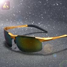 Men polarized sunglasses brand polaroid sport Driving Sun Glasses outdoor fishing retro Coating Mirror oculos  Eyewear aluminum(China (Mainland))