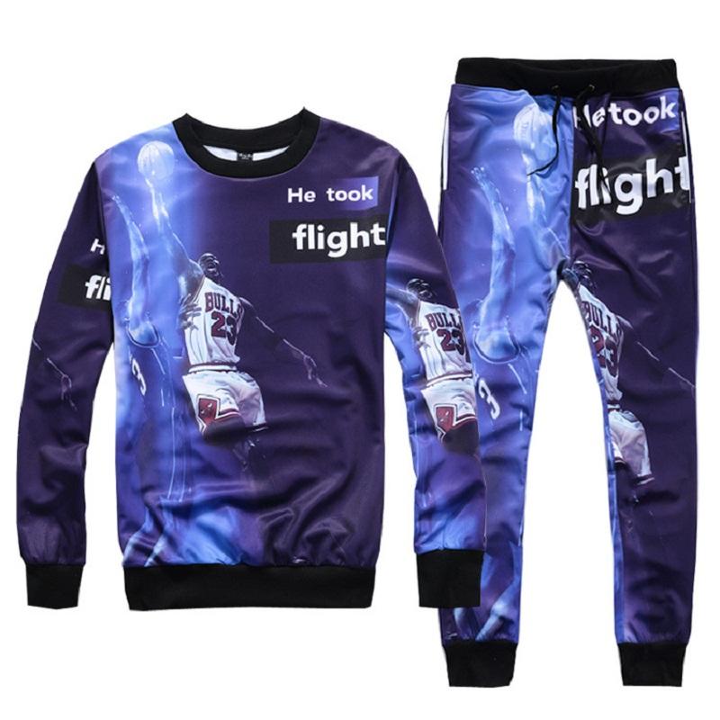 2016 hot Jordan Flight crewneck sweatshirt jogging suits for men sport suit men running Jogging suit ropa jordan plus size(China (Mainland))