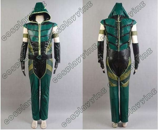 Green Arrow Costume Cosplay Green Arrow Hoodie Costume