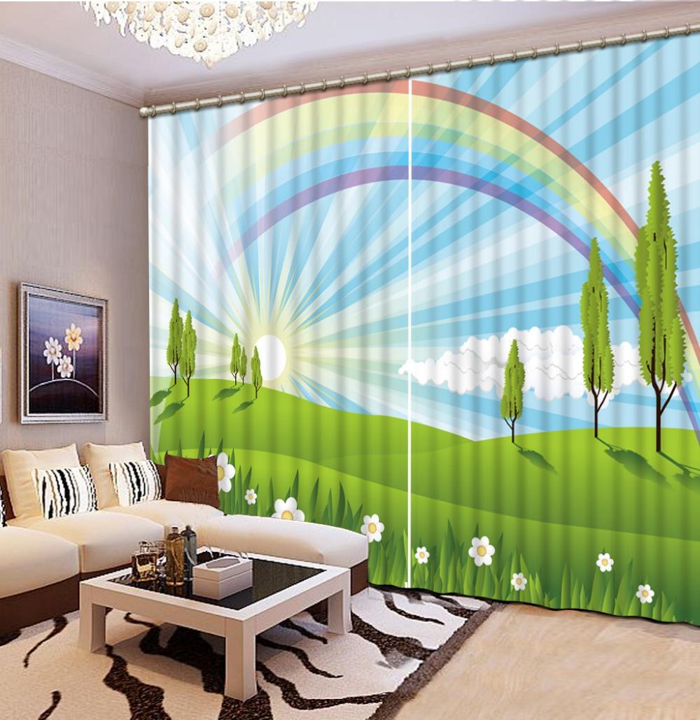 Rainbow Kitchen Decor: Online Get Cheap Rainbow Curtains -Aliexpress.com
