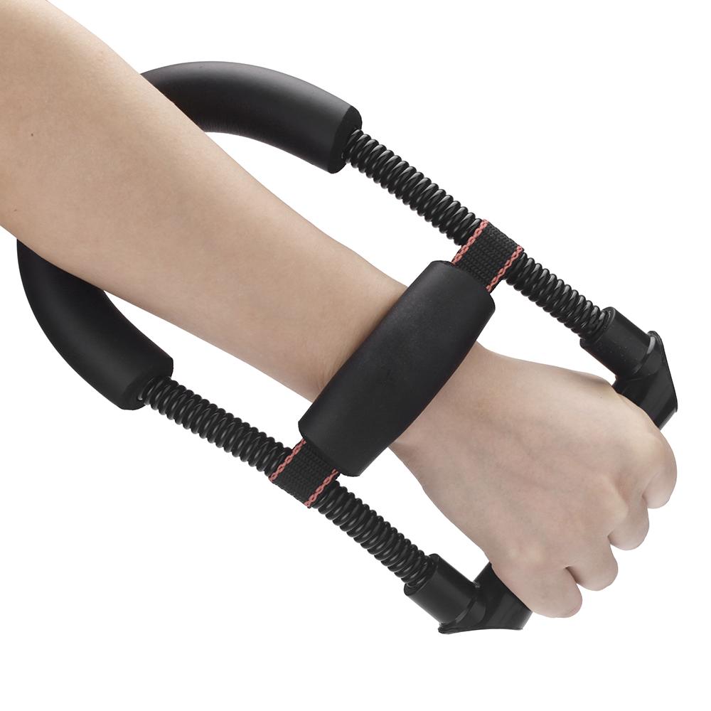 手首アーム装置鋼電源春調節可能な前腕力屈筋ハンドグリッパーフィットネス筋肉強化スポーツアクセサリー