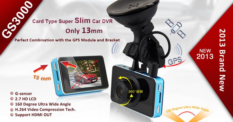 "GS3000 Car Dvr Recorder Full HD1920* 1080P 30fps H.264 5MP Vehicle Camera Vehicle Black Box DVR 2.7""TFT LCD Motion Detection(China (Mainland))"