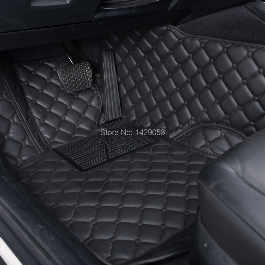 Car Floor Mats Case for SKODA Rapid Fabia Octavia Superb Yeti Foot Rugs XPE Customized Auto Carpets(China (Mainland))