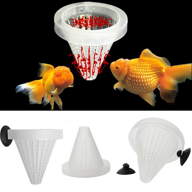 Acuario cesta alimentador del alimento de pescados vivo gusano lombriz cono Brineshrimp alimentación herramienta(China (Mainland))