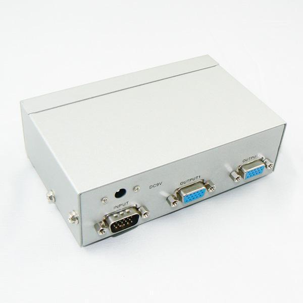 2 port Mini Desktop KVM Switch VGA for computer free shipping<br><br>Aliexpress