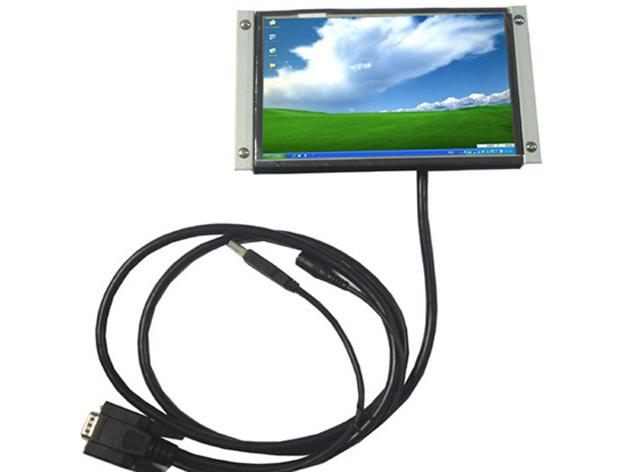 7inch Stand LCD touchscreen TV Car Monitor VGA KSF-700(China (Mainland))