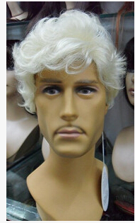 Middle-aged and old wig gray old man wig wig 4a71e7c9f6b6