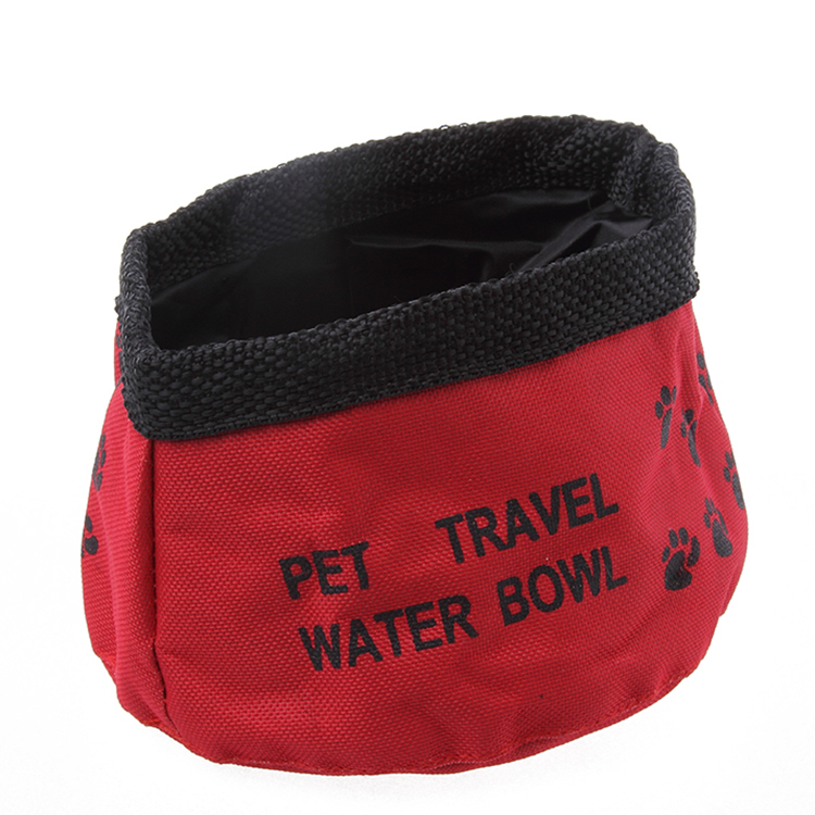 Waterproof Designer Pet Cat Collapsible Travel Pet Bowl Camping Foldable Food Water Small Dog Feeders Bowl For Dog Bowl(China (Mainland))