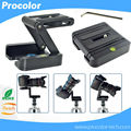 Z folding desktop tripod head slide camera pack shot rack portable light camera support tripod quick