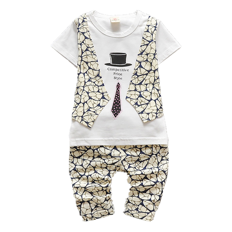 2016 New Summer Baby Boys Clothing Sets Vest Shorts Childrens Kids Clothing Toddler Boys Clothes Set Next Gentleman Suit(China (Mainland))