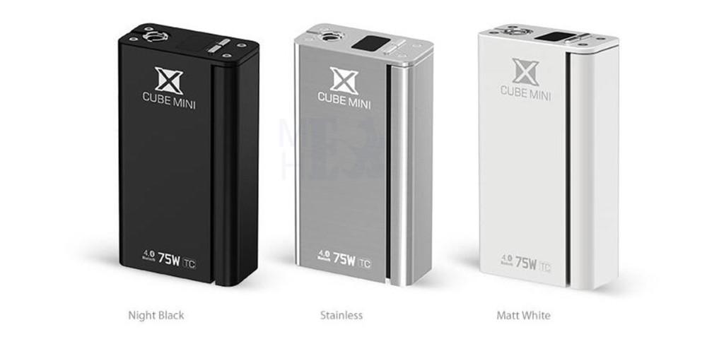 ถูก บุหรี่อิเล็กทรอนิกส์Vapeกล่องMod KitสำหรับไมโครTFV4เครื่องฉีดน้ำเก่งถังบุหรี่อิเล็กทรอนิกส์SMOK X CUBEมินิ75วัตต์อิเล็กทรอนิกส์มอระกู่X9008