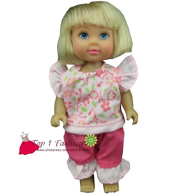 New arrvial 5pcs/set garments go well with and gown for mini kelly simba for mini barbie doll