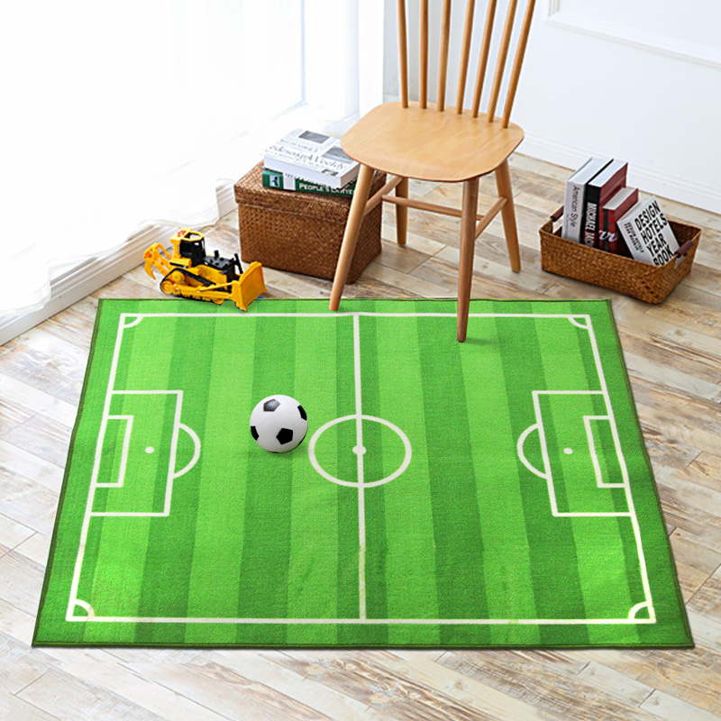 Play Rug Boys Football Pitch Childrens Rug Green: Online Buy Wholesale American Football Field From China