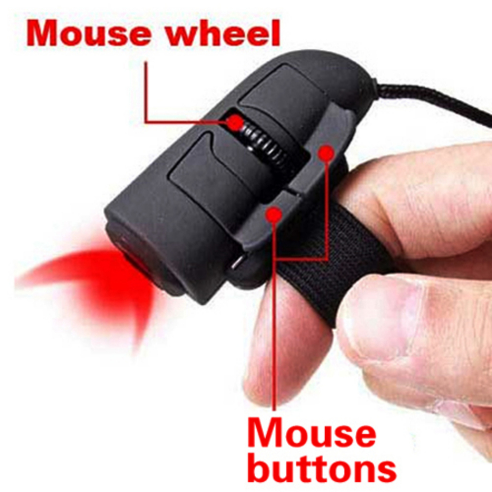 USB 2.0 Mini 3D Optical Finger Mouse 1200dpi Wired Mice for PC Laptop(China (Mainland))