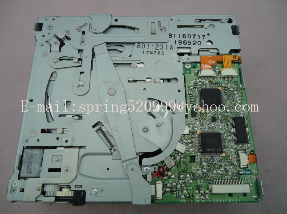 100% New Clarion 6 CD changer mechanism drive loder PCB number 039278421 for Ni$$an 28185 JG41A Renault car CD radio 2PCS/LOT(China (Mainland))