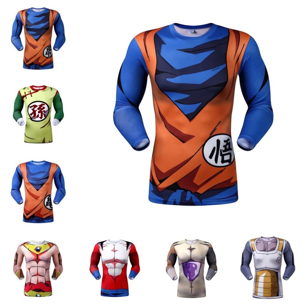 New 2016 The Dragon Ball Z T Shirts Training To Beat Goku - sport fitness Fashion T-shirts Tee Camiseta Men Shirts(China (Mainland))