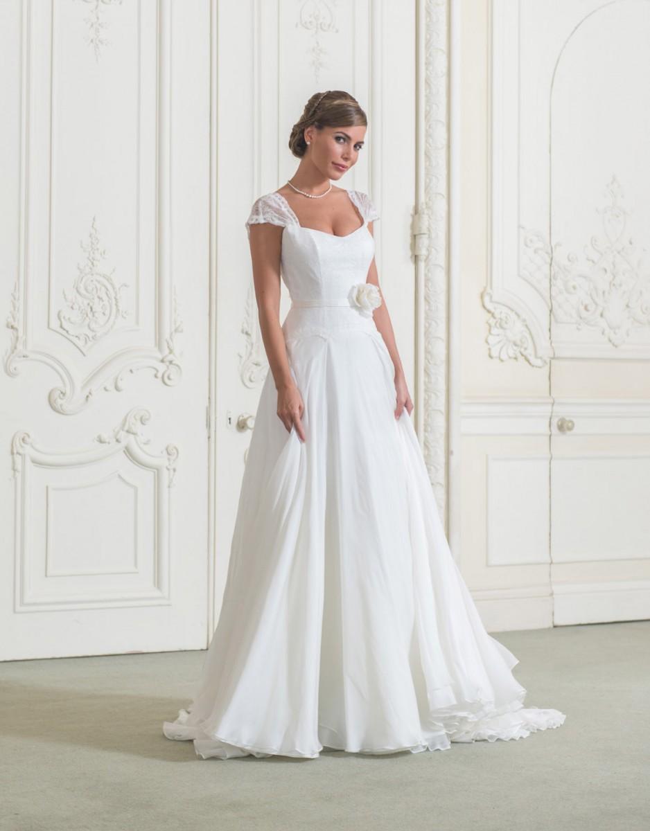 2016 специальное предложение спинки Cap рукавом пояса платья новая совок свадебное платье свадебное платье размер короткой шифон и сатинировки бросился