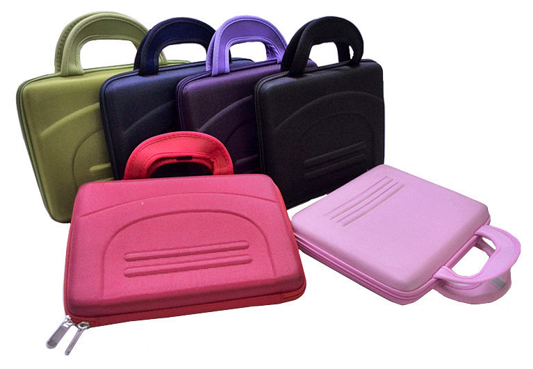 "High Quality 10"" (25.4cm) Colorful Hard Netbook Laptop Sleeve Case Bag for ipad 2 3 4 5 6 SLEEVE BAG(China (Mainland))"