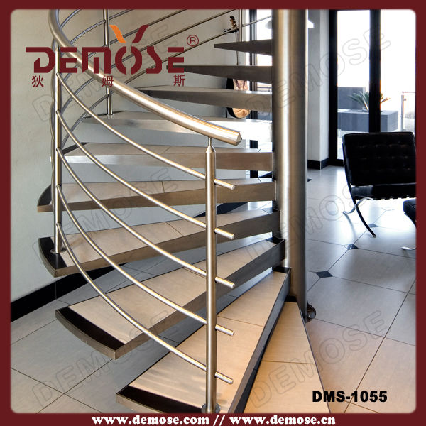 stainless steel railing loft stairs spiral staircase prices in stairs