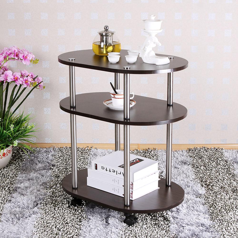 Kitchen shelving small coffee table three simple mobile a few corners two tables teasideend(China (Mainland))