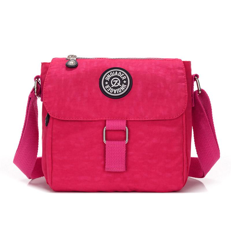 new women's travel waterproof shoulder messenger nylon bag for ladies female bolsa women fashion sea beach bags(China (Mainland))