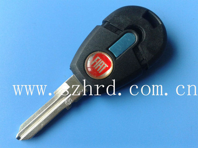 New style Fiat transponder key shell and key fiat blank for selling