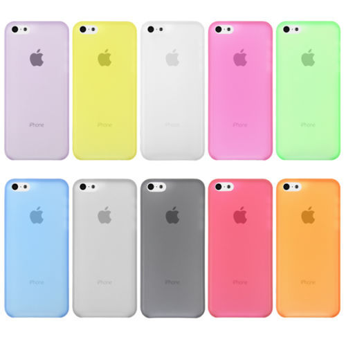 Phone Cover Cases For Apple iPhone5C iPhone 5C Case For Mobile Phone Protection Shell Logo Clearly Ultra-thin 1PC Free Shipping(China (Mainland))