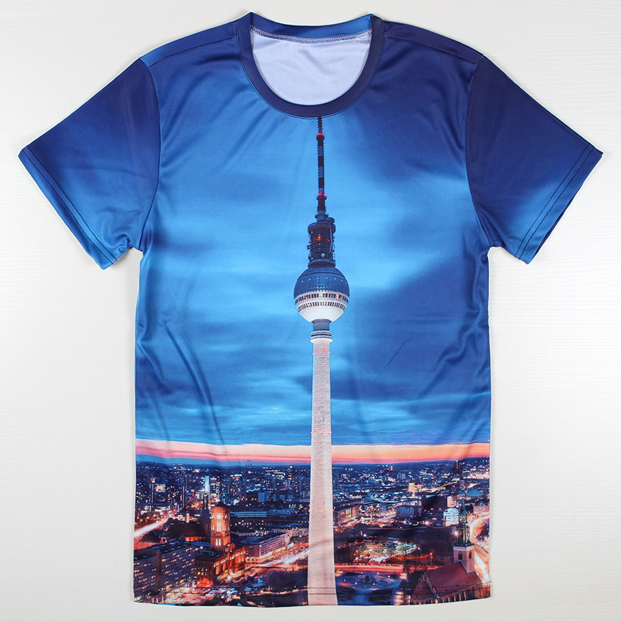 Summer Style New York City 3d T Shirt Good Quality Short