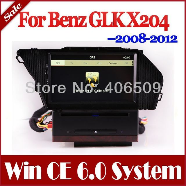 Auto Radio Car DVD Player for Mercedes Benz GLK X204 GLK300 GLK350 2008-2012 with GPS Navigation Nav Stereo TV USB AUX Map Audio