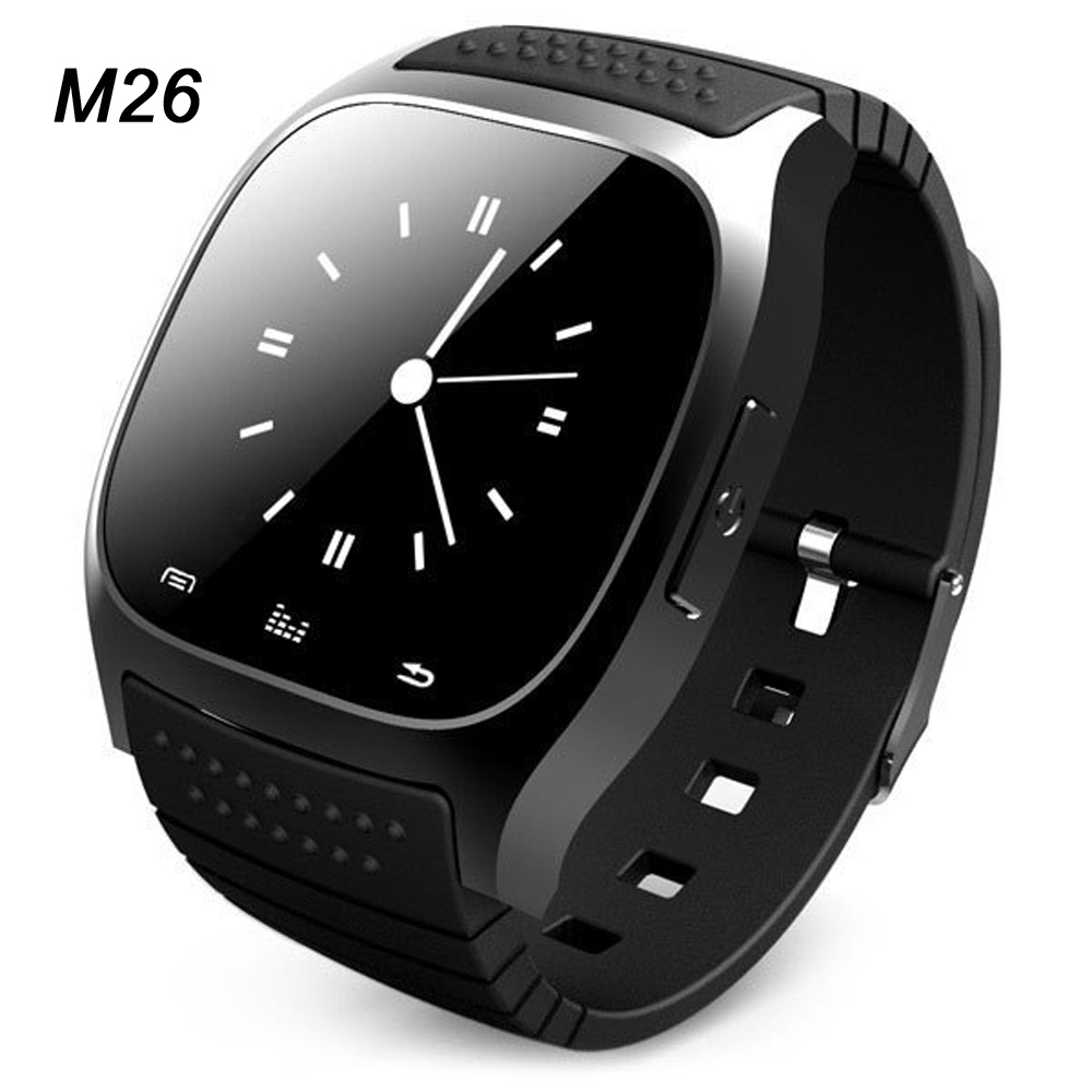 Hot sport Bluetooth Smart Watch luxury wristwatch M26 smartwatch with Dial SMS Remind Pedometer for IOS Android Samsung phone(China (Mainland))