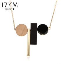 Buy 17KM Fashion Minimalist Geometric Ethnic Tassel Statement Choker Necklace Women Rope Black White Wood Beads Brand Maxi Jewelry for $2.19 in AliExpress store