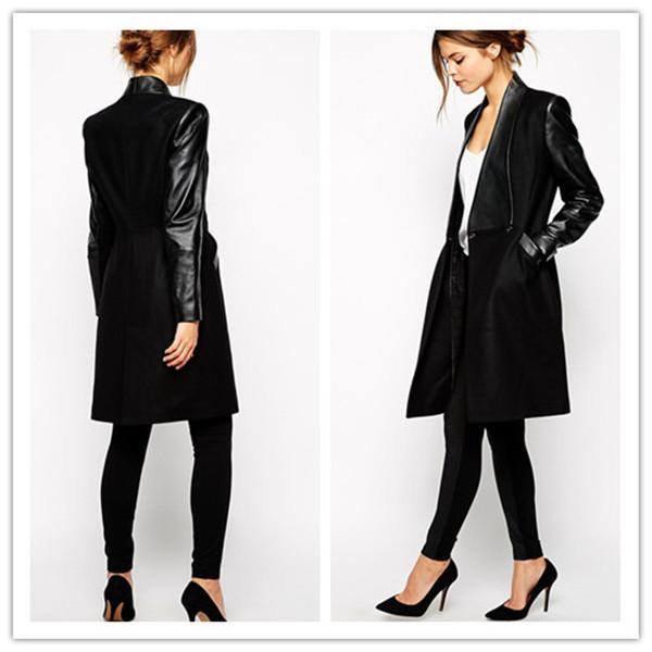Images of Black Long Jacket - Reikian