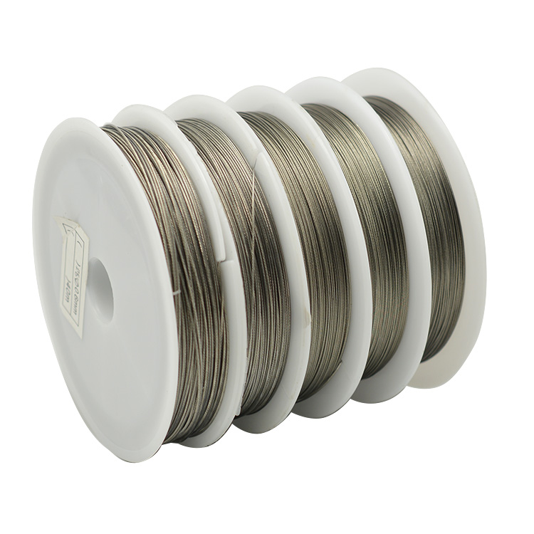 High quality fishing steel wire line stainless steel thread wear-resistant wires fishing line super multi-size optional(China (Mainland))