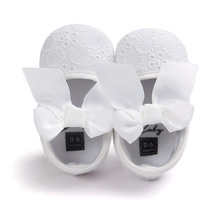 ROMIRUS Spring White Princess Baby Shoes Soft Soled Toddler Shoes Prewalkers Babay Girls Lace Shoes(China (Mainland))
