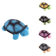 Turtle night light+USB cable Music projector 4 Songs star lamp for Children gift comfortable lighting baby bedroom decoration(China (Mainland))
