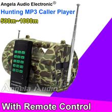 Outdoor Loudspeaker Hunting MP3 Bird Caller Player Decoy Birds Songs Amplifier Camo Speaker For Duck Goose Crow Owl Pigeon Hawk