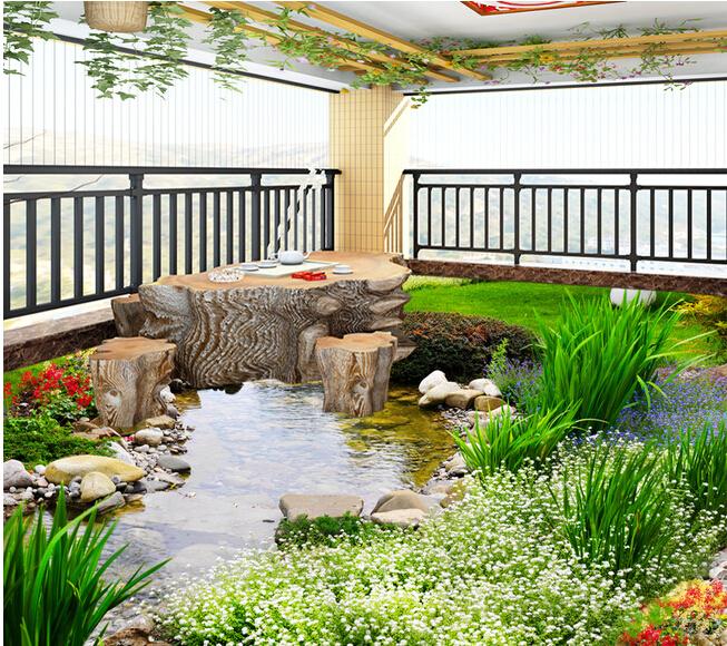 Decorar fuera medio ambiente 3d realista dibujo piso de for Baldosa para piso de bano