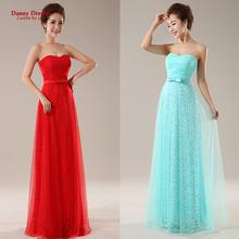 new 2016 long design fashion Top sky blue girl's vestidos longo prom dresses party elegant evening dress(China (Mainland))