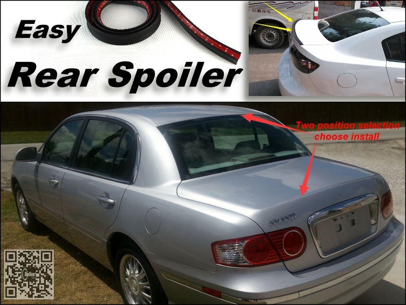 Root / Rear Spoiler For KIA Amanti / Opirus Trunk Splitter / Ducatail Deflector For TG Fans Easy Tuning / Free Modeling<br><br>Aliexpress