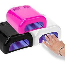 Salon Sundry - Professional 36 Watt UV Beauty Salon Nail Dryer - Pink(China (Mainland))