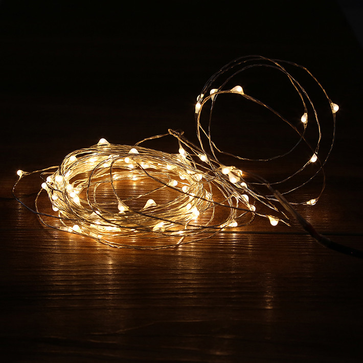 String Lights With Wire : 10M-100LED-Christmas-Fairy-Lights-Copper-Wire-LED-Starry-Lights-DC-12V-Yellow-LED-String-Light.jpg