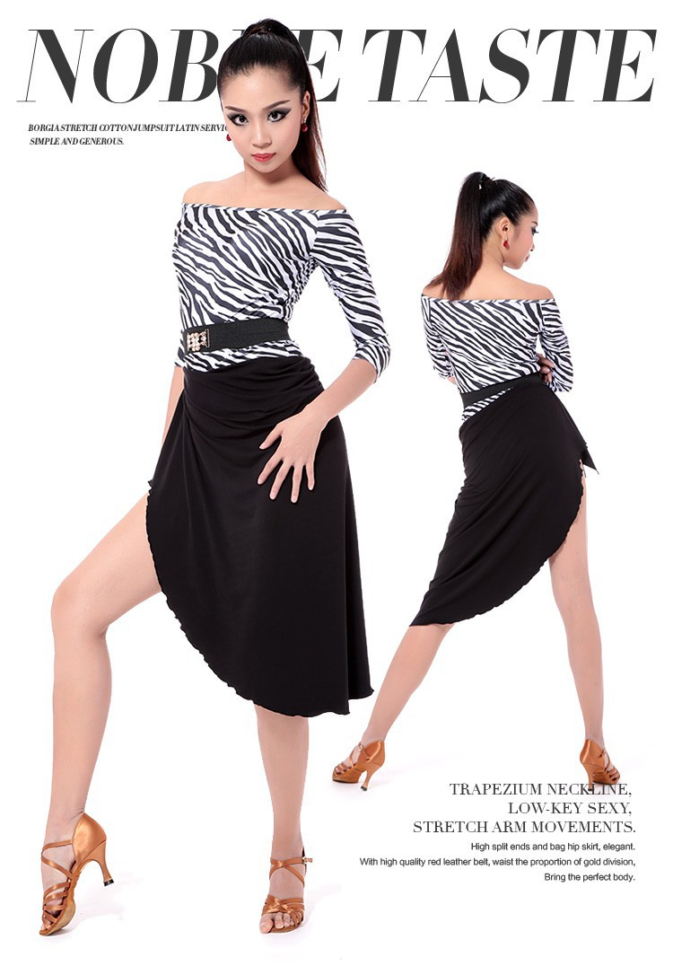 Одежда для латинских танцев QIYA 4 L2004A+L2007B