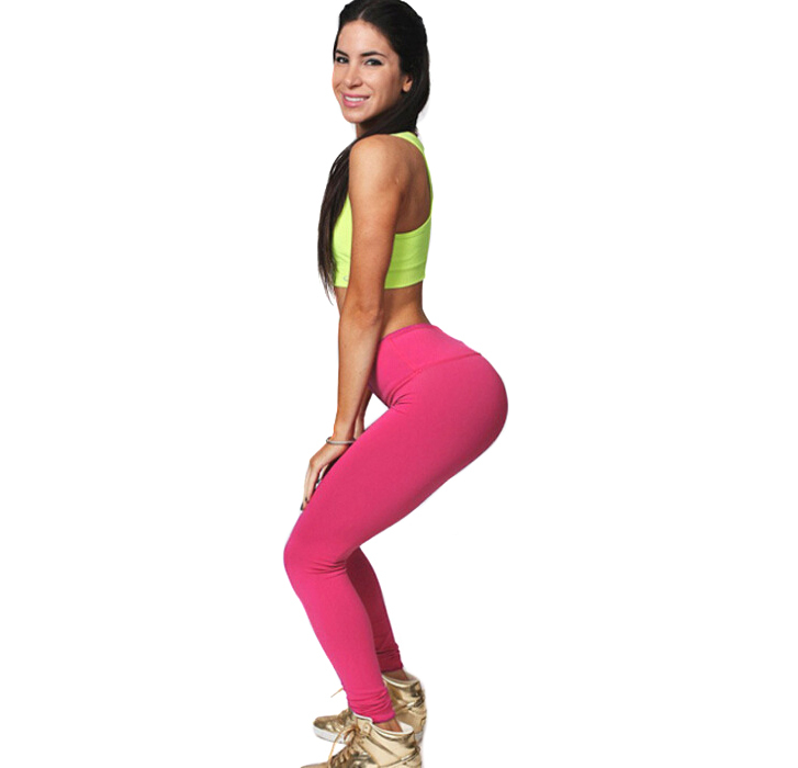 2015 fashion sexy sports pants leggings training bodybuilding fitness clothing gym clothes running trousers Plus Size