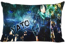 Noragami Pillowcase Custom Zippered Rectangle Pillow Cover Cases Size 35x45cm (One Side) WT#905&as37 - custom product store