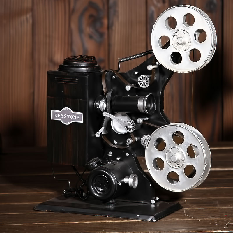 Creative Table Ornaments retro nostalgia projector model ornaments for friend children giftS free shipping(China (Mainland))