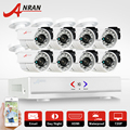 ANRAN 8CH Security Camera System AHD 1080N HDMI DVR 720P 1800TVL IR Outdoor CCTV Camera Video