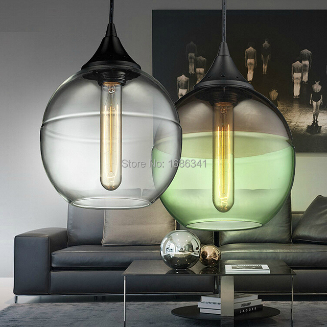bouteille ronde lustre energy saving chambre clairage lustre pendentifs osram lampe vert. Black Bedroom Furniture Sets. Home Design Ideas