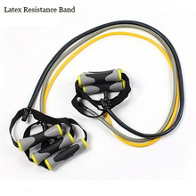 Exercise Tubes Practical Latex Elastic Training Rope Fitness Resistance Bands Yoga Pilates Workout Cordages Free Shipping
