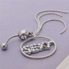 Jewelry Tassel Dangle Crystal